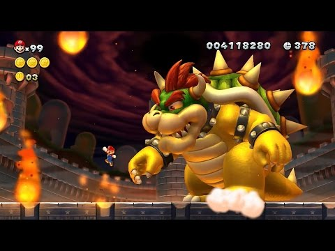 Download New Super Mario Bros U Playthrough Part 8 Video 3GP Mp4 FLV