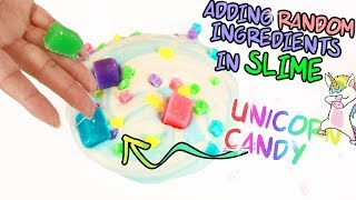 ADDING The Most RANDOM INGREDIENTS IN SLIME ~ Trying To Find New Slime Ingredients!  Slimeatory #433
