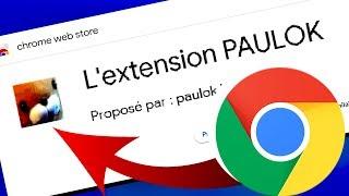 TÉLÉCHARGEZ L'EXTENSION PAULOK