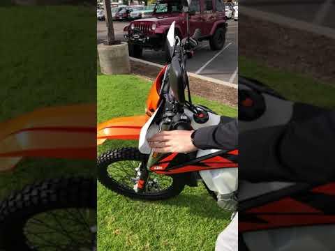 2018 KTM 500 EXC-F in EL Cajon, California - Video 1