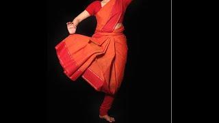 Easy Method To Tie Practice Saree For Bharathanatyam| Lakshmi Venkatesh |SriPaadham Academy Of Dance