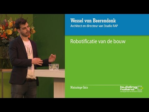 Robotificatie in de bouw