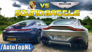 YOU Get To Be Part Of A REVIEW | ASTON MARTIN Vs PORSCHE SOUND BATTLE By AutoTopNL