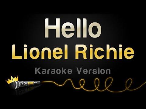 Download Lionel Richie Hello Karaoke Version Mp4 HD Video and MP3