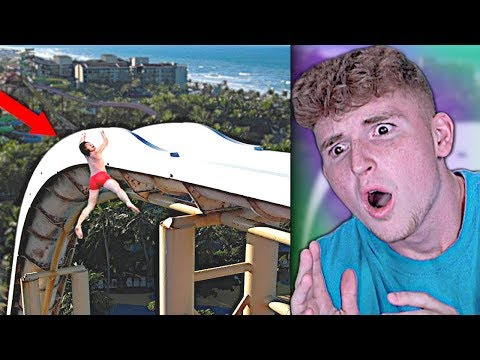 VIRAL Water Slide Fail Does NOT END GOOD..