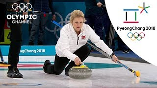 Norways Surprising Curling Victory Over Canada | Day -1 | Winter Olympics 2018 | PyeongChang