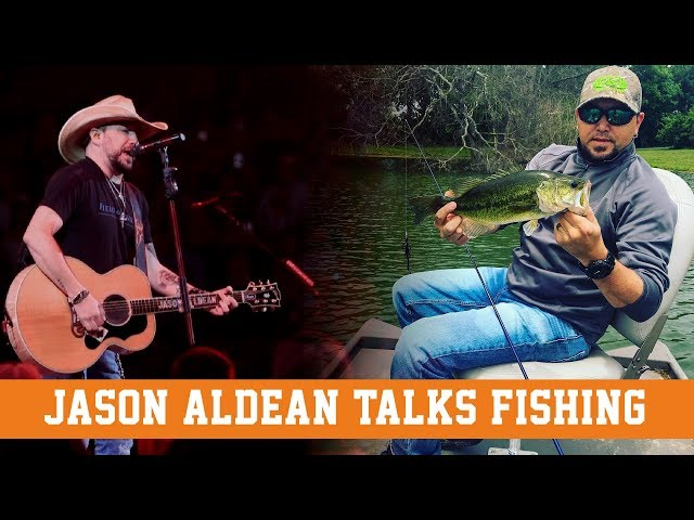 JASON ALDEAN Talks FISHING with Wired2fish!