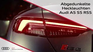 Audi Original abgedunkelte Heckleuchten