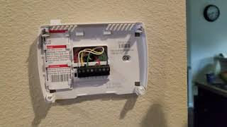 replace battery honeywell thermostat programmable