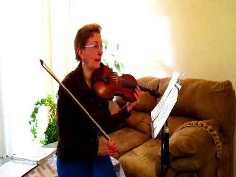 Violin lesson by Diana Neretina