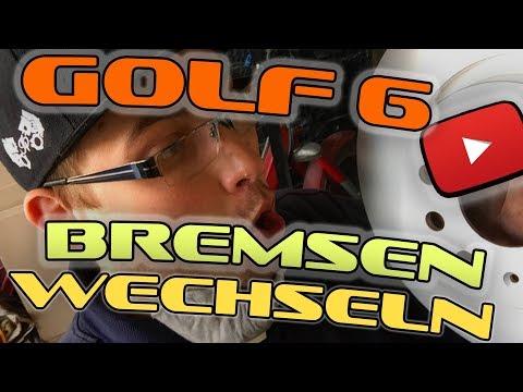 VW Golf 6 Bremsen vorne selber wechseln