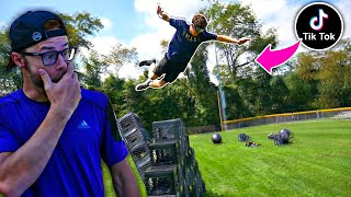 TIKTOK CRATE CHALLENGE Greatest Wipeout Ever!! 🤯
