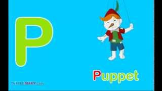 Toddler Words | Words Starting With P
