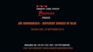 Joe Bonamassa - Different Shades Of Blue - Official Trailer