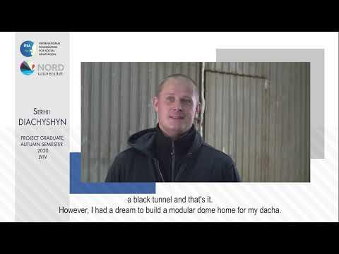 Відео-відгук випускника проекту «Норвегія-Україна» Сергія Дячишина