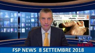 FSP News del 8 settembre 2018