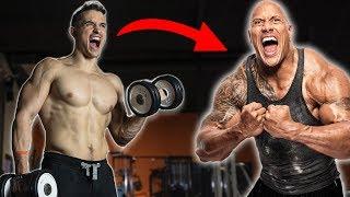 I train like the Rock Dwayne Johnson ! (1week)