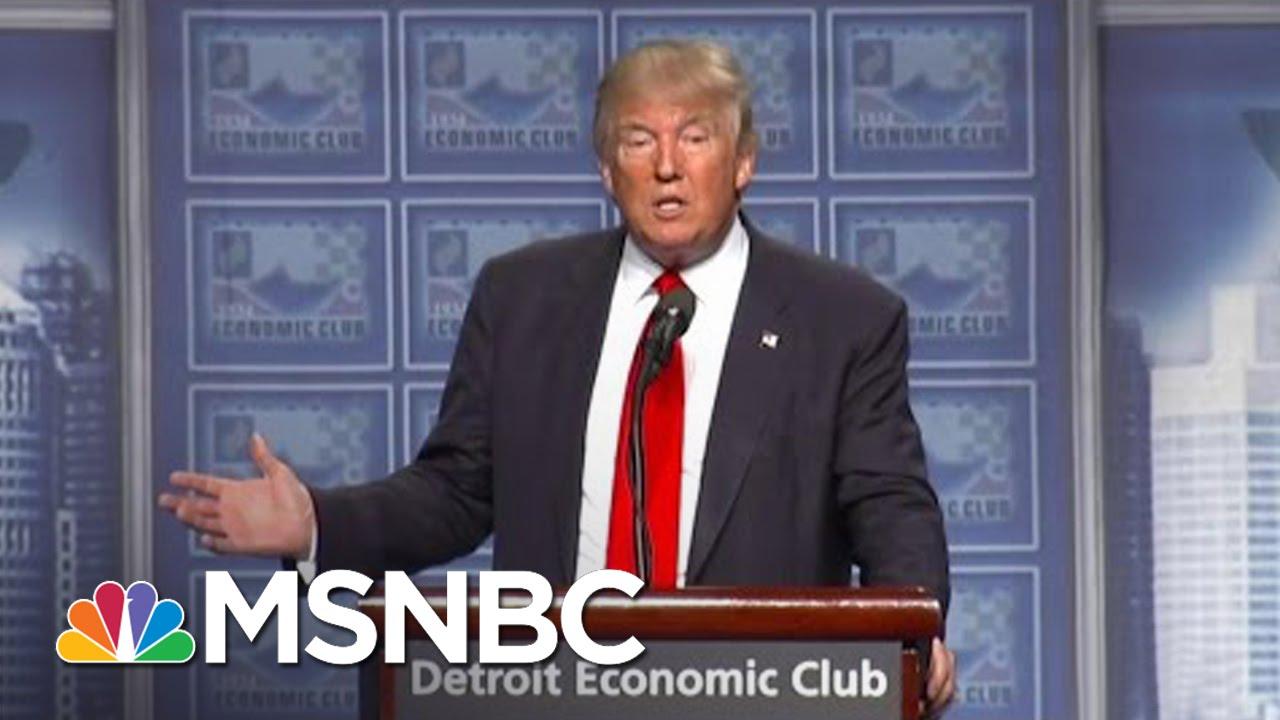 Donald Trump: Ivanka Working On Education Reform | MSNBC thumbnail