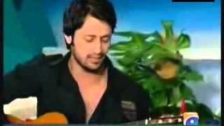 Atif Aslam playing for his girlfriend   Kuch Is Tarah   Acoustic Unplugged low