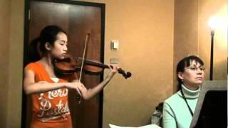 La Fille aux Cheveux de Lin- Debussy (Violin Version)