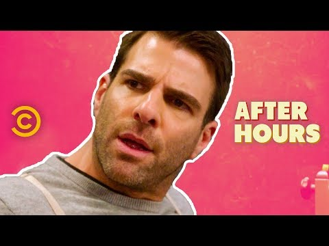 Zachary Quinto Gives You the Acting Lesson of a Lifetime - After Hours with Josh Horowitz (видео)