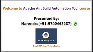 Apache Ant Build Automation Tool Tutorial-1