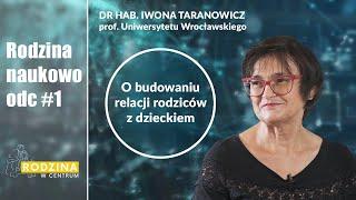 RODZINA NAUKOWO #1 |Rodzicielstwo, relacje: rodzice - dzieci | dr hab. Iwona Taranowicz prof.UWr