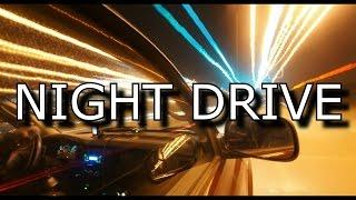 *ASMR* Relaxing NIGHT DRIVE with internal car sounds