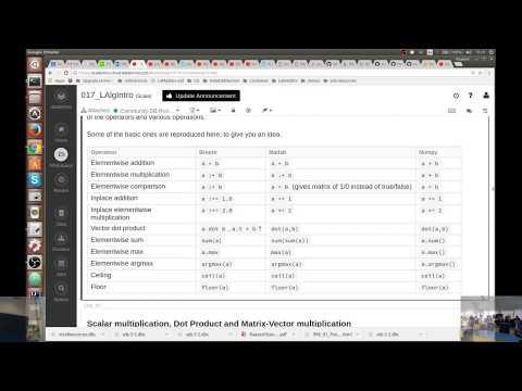 Linear Algebra Intro · sds-2-2
