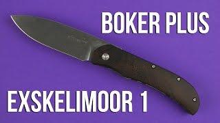 Boker Plus Exskelimoor 1 (01BO004) - відео 2