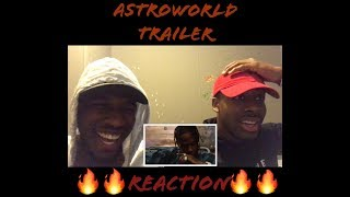 ASTROWORLD TRAILER REACTION!!!W/OFFICIALLY THEREALNONFICTION