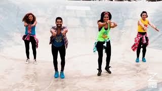 """La Respuesta"" By Becky G And Maluma   ( Zumba Bonus Track, Choreo ) @henrycedeñozj"