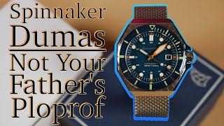 Spinnaker Dumas Version II Dive Watch Review | Not Your Father's Omega Ploprof | Take Time