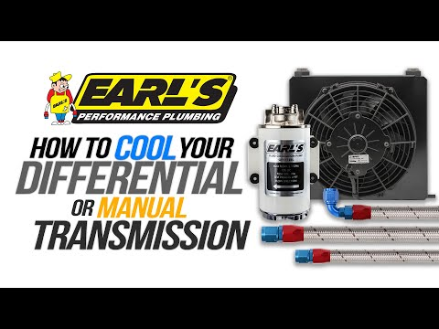 Earl's Differential and Transmission Cooling Systems