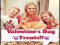 Valentines Day Treats!! - YouTube