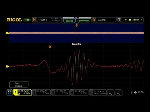 Video of Unmatched Sample Rate Performance of the DS7000 Series