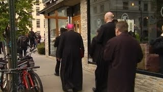Bishop DiMarzio Leads Good Friday Services (3:19)