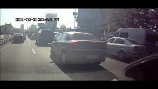 Аварии на дорогах, приколы на дороге 2018 7