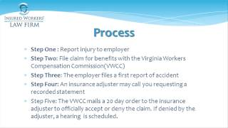 Virginia Workers' Compensation - Worker's Compensation Claim Process