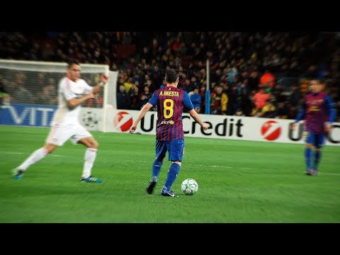 Andrés Iniesta – The Art of Passing