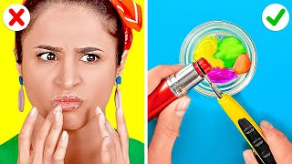 So Easy And So Cool Girly Tricks || Hair And Make Up Ideas You Need To Try