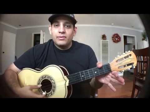 Vihuela (( La Media Vuelta )) Estilo Javier Solis Tuto y Anuncio de nuevo canal