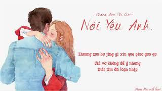 [Vietsub + Pinyin] Nói Yêu Anh - Choco Lưu Chí Giai