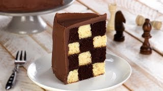 Chessboard Cake Recipe For A Creative Dessert On Special Occasions