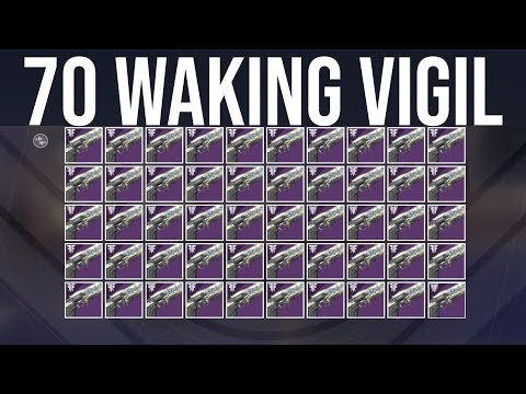 Destiny 2: I Farmed 70 Waking Vigils