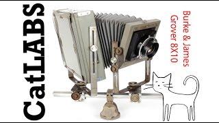 Film Camera Reviews: Burke & James Grover 8X10