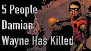 5 People Damian Wayne Has Killed