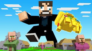 Minecraft BUT We have the INFINITY GAUNTLET