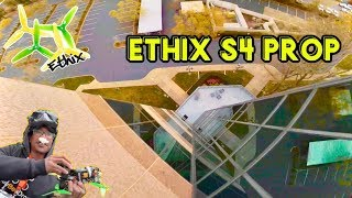 Testing Ethix S4 Props on the Emax Buzz | FPV FREESTYLE ????