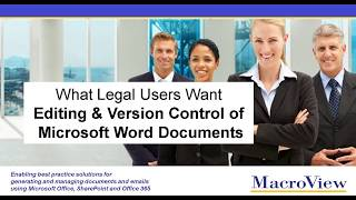 Version Control As You Edit Word Documents from Office 365